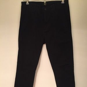 Vince Black Cotton Pants